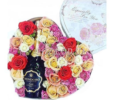 """Gourmet gift"" in the online flower shop roza.od.ua"