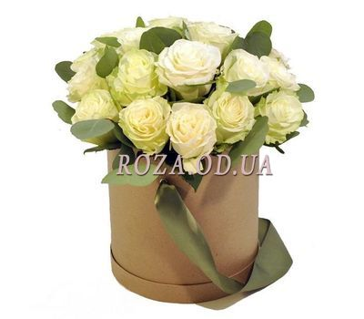 """21 roses in a box"" in the online flower shop roza.od.ua"