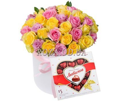 """""""Delivery of happiness"""" in the online flower shop roza.od.ua"""