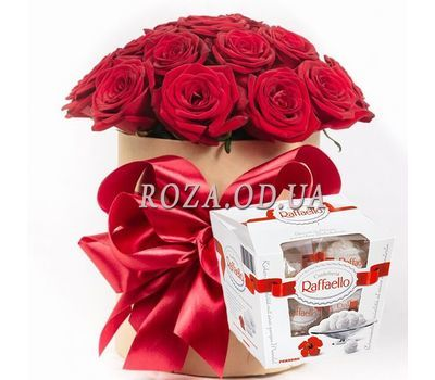 """My half"" in the online flower shop roza.od.ua"