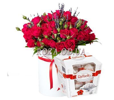 """Ruby Kiss"" in the online flower shop roza.od.ua"