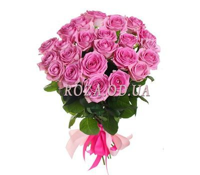 """""""25 pink roses"""" in the online flower shop roza.od.ua"""