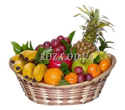 """""""Fruits as a gift"""" in the online flower shop roza.od.ua"""