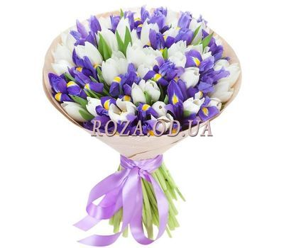 """Spring bouquet of flowers"" in the online flower shop roza.od.ua"