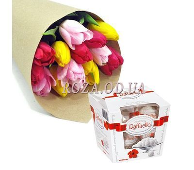 """Spring whim"" in the online flower shop roza.od.ua"