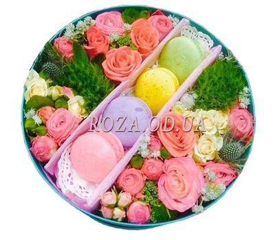"""Bright colors"" in the online flower shop roza.od.ua"