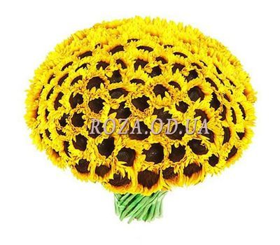 """Large bouquet of sunflowers"" in the online flower shop roza.od.ua"