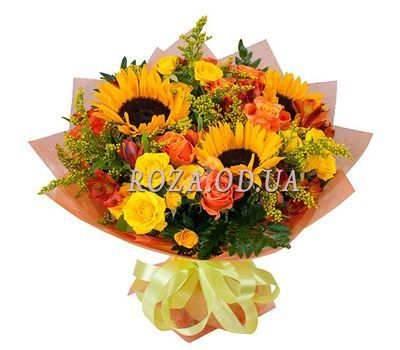 """Bouquet of flowers - Fairy glade"" in the online flower shop roza.od.ua"