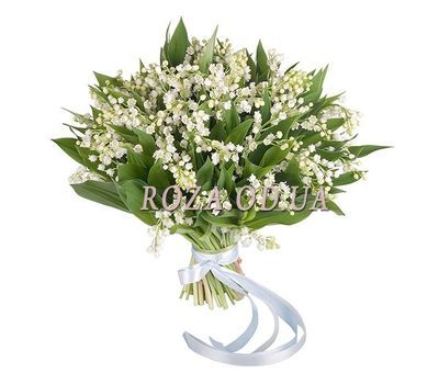"""""""Lily of the valley bouquet - Spring"""" in the online flower shop roza.od.ua"""