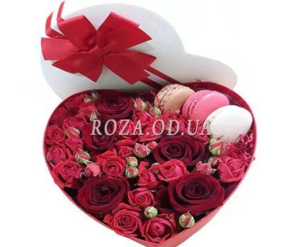 """Heart recognition"" in the online flower shop roza.od.ua"