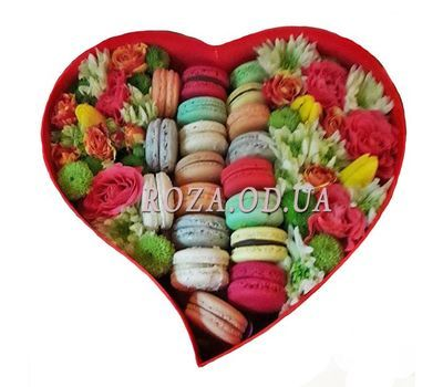 """Vivid compliment"" in the online flower shop roza.od.ua"