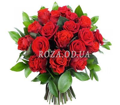 """17 roses El Toro"" in the online flower shop roza.od.ua"