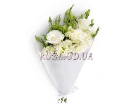 """5 whites"" in the online flower shop roza.od.ua"