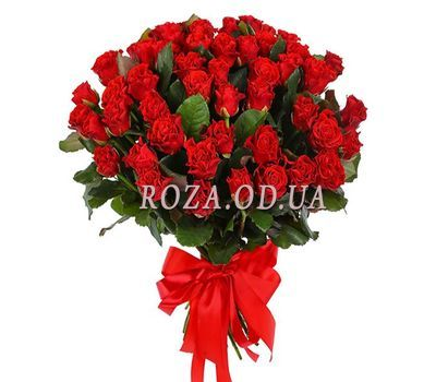 """51 roses of El Toro"" in the online flower shop roza.od.ua"