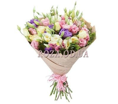 """A bouquet of 11 eustom"" in the online flower shop roza.od.ua"