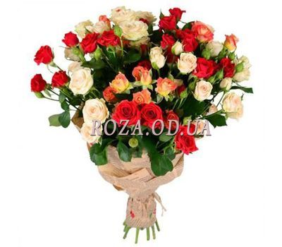 """Bouquet of 11 bush roses"" in the online flower shop roza.od.ua"