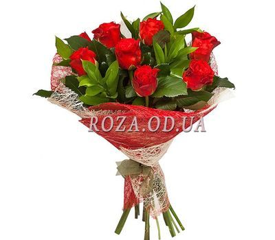 """Bouquet of 11 roses El Toro"" in the online flower shop roza.od.ua"