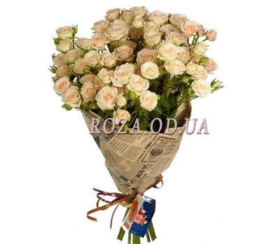 """Bouquet of 13 bush roses"" in the online flower shop roza.od.ua"