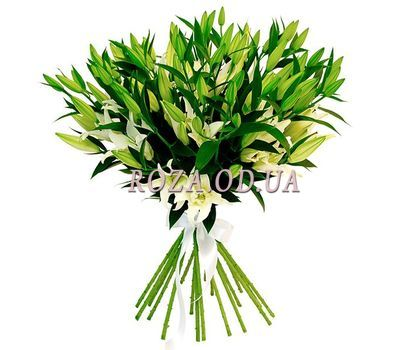 """Bouquet of 17 lilies"" in the online flower shop roza.od.ua"