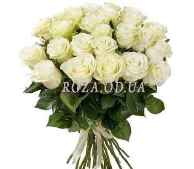 """""""Букет из 29 белых роз"""" в интернет-магазине цветов roza.od.ua"""