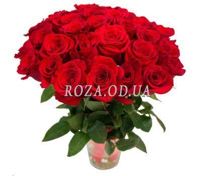 """""""Букет из 31 красной розы"""" в интернет-магазине цветов roza.od.ua"""