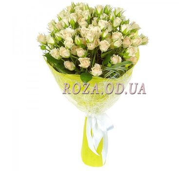 """Bouquet of 9 bush roses"" in the online flower shop roza.od.ua"