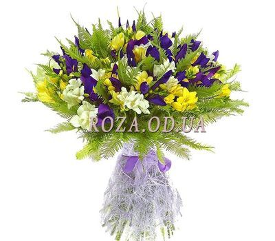 """Bouquet with milling"" in the online flower shop roza.od.ua"