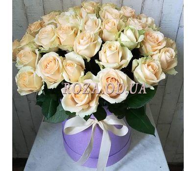 """""""51-roza-v-shlyapnoj-korobke"""" in the online flower shop roza.od.ua"""