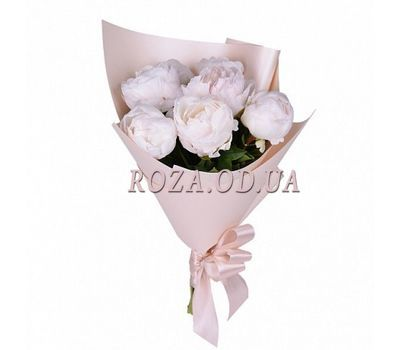"""Mini bouquet of peonies"" in the online flower shop roza.od.ua"