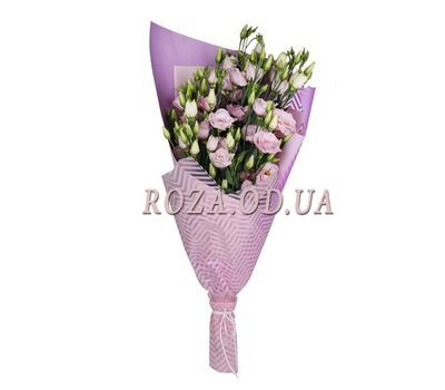 """A small bouquet of eust"" in the online flower shop roza.od.ua"