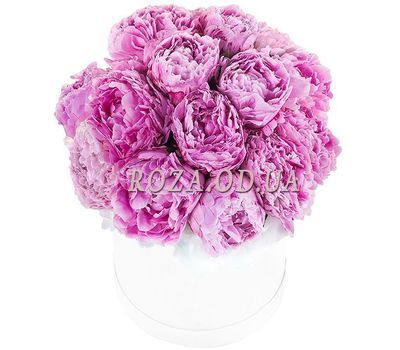 """Peonies in a Box"" in the online flower shop roza.od.ua"