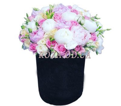 """Elegant composition with pions"" in the online flower shop roza.od.ua"