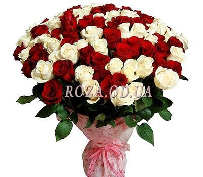 """Bouquet of 101 roses"" in the online flower shop roza.od.ua"