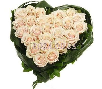 """""""25 white roses"""" in the online flower shop roza.od.ua"""