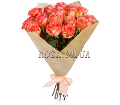 """""""Букет из коралловых роз"""" в интернет-магазине цветов roza.od.ua"""