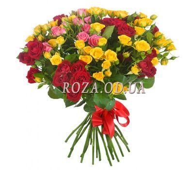 """""""Букет из 23 кустовых роз"""" в интернет-магазине цветов roza.od.ua"""