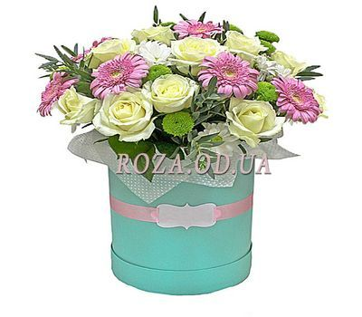 """""""Bouquet in a Box"""" in the online flower shop roza.od.ua"""