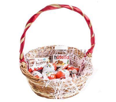"""Корзина с шоколадом киндер"" в интернет-магазине цветов roza.od.ua"