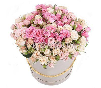 """""""Кустовые розы в коробке"""" в интернет-магазине цветов roza.od.ua"""