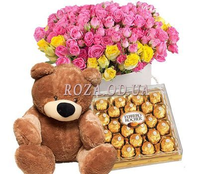 """Chic flower gift"" in the online flower shop roza.od.ua"