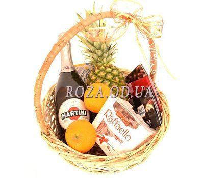 """Asti Martini Champagne Basket"" in the online flower shop roza.od.ua"