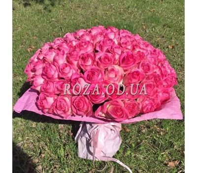 """101 pink rose 60 cm - view 1"" in the online flower shop roza.od.ua"