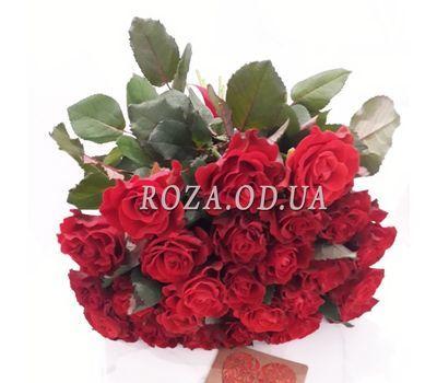 """""""25 красных роз - вид 1"""" в интернет-магазине цветов roza.od.ua"""