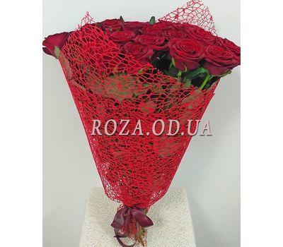 """""""25 красных роз - вид 4"""" в интернет-магазине цветов roza.od.ua"""