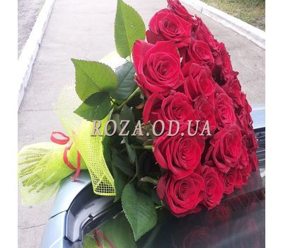 """""""25 red roses - view 5"""" in the online flower shop roza.od.ua"""