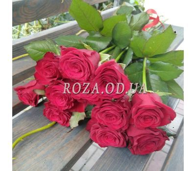 """11 roses - view 2"" in the online flower shop roza.od.ua"