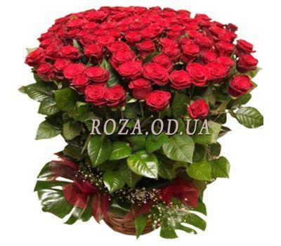 """""""Букет из 101 красной розы 80 см"""" в интернет-магазине цветов roza.od.ua"""
