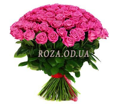 """101 pink rose 60 cm"" in the online flower shop roza.od.ua"