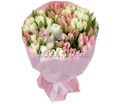 """101 tulip"" in the online flower shop roza.od.ua"