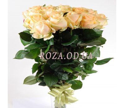 """""""11 кремовых импортных роз"""" в интернет-магазине цветов roza.od.ua"""